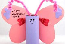 valentine crafts / by Jessica Mae