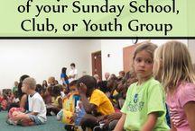 J Zone / Sunday school, orange program