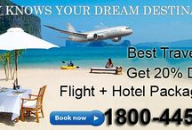 Best Travel Deals / Best Travel Deals Get 20% Discount Flight + Hotel Package Deals. Book online http://uniquetrip.com or call our travel expert at - 1800-4452-810