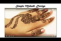Henna Mehndi Tutorial / For those who have always wanted to learn this how to apply mehndi step by step, we have some good news for you. After reading this Video on how to apply mehndi designs for beginners, you will look for an empty hand to try and practice this mehndi design.