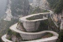 Roads , Railroads and Bridges Photography / The Beauty and Unusual, Unique Roads, Railways and Bridges