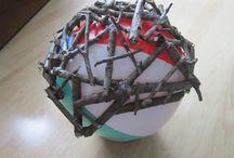 Twig balls / DIY