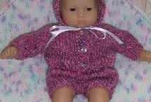 knitting patterns-dolls,fashion dolls, toys, etc. / by Cheryl Keiper
