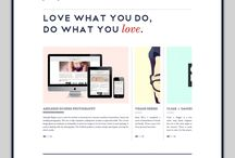 Website Inspiration / by Abby Downing