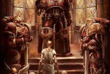 Blood Angels Artwork (Warhammer 40k)