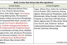 Food and ingredient info