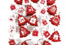 Countdown to Christmas / A collection of wonderful advent calendars, a great way to countdown to Christmas. Includes wooden, fabric and many more unique Advent Calendars.
