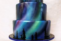 Airbrushed Cakes