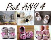 Baby booties / Crochet