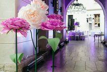 цветы из гофробумаги мастер класс