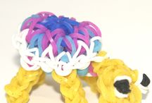 Loom band creations and accessories