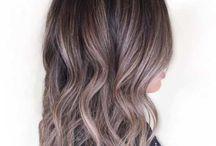 Hnědé vlasy- plavé