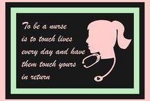 nursing / by Courtney Aimie
