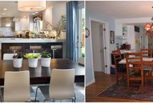 Strite + before and after shots / We love the whole process; meeting with clients, demolition, and recreation. Here are glimpses into some remodeled homes.