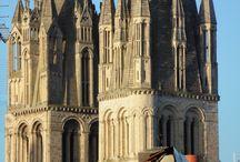 Caen, Abbaye aux hommes foto 2014 / Caen, Abbaye aux hommes foto 2014 e 2010