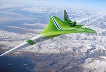 futuristische voertuigen lucht