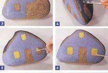 pintura piedras