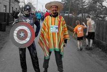Jak zrobić Meksykanina i przebiec 10km w Stanowicach / O tym, jak się przebrałem na bieg o Moczkę i Makówki w Stanowicach - 2015r.