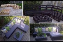 House - Yard / Inexpensive ways to furnish the yard! / by Mike Whittaker