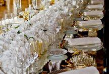 Gold-White Table Decor Inspiration