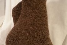 Alpaca Socks and Gloves / Warm and Cozy Socks and Gloves made from my herd of suri alpacas.