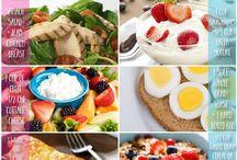 Fitness food and snacks