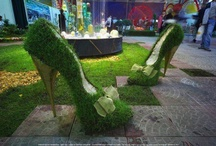 Green Grass Sculptures / Feel the Green Grass in any shape
