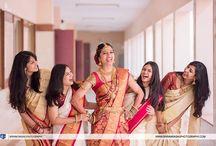 Bride sarees