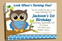 Boy Birthday Invitation Ideas / Invitations personalized by That Party Chick to fit your child's party! / by Michelle Wise @ That Party Chick