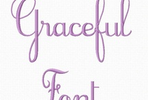 Machine Embroidery Fonts