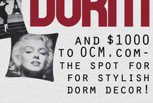 Dream Dorm Design Contest with OCM / by Adriana bartlett