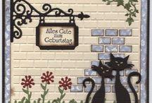 Kort med katte