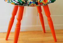 Put Your Feet Up / Upcycled Foot Stools by Frank & Co find us at www.facebook.com/FrankandCoNZ