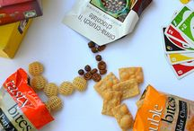 Snacks / Do you snack? If you do, here are some smart ideas for your next one!