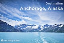Anchorage, Alaska / Alaska is undeniably one of the world's natural wonders and Anchorage is where it all begins. South of Anchorage is the Kenai Peninsula where you can witness a microcosm of all that Alaska has to offer -- great glaciers, stunning fjords, verdant forests, beautiful mountains, quaint fishing villages, and fish-filled rivers – all within a day's drive.