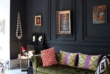 wall black