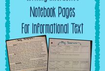Classroom Interactive Notebooks / by Anna Beth