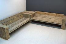 houten tuinmeubelen