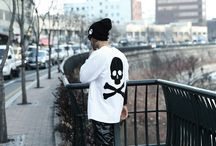 ByTheR- Black Vintage Chic Style Hip Pop Looking Men's Fashion / http://en.byther.kr/