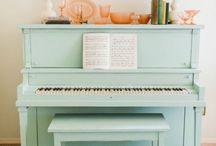 Фортепьяно - идеи для декора