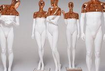 figurína, vystavování