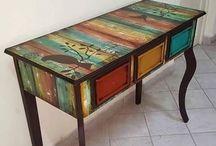 Wood-Painting & Design