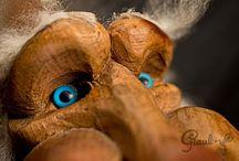 Giauli / Creature gnomiche che vivono nelle Dolomiti