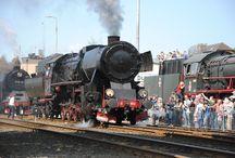 Train in Wolsztyn-Poland / parowozy z Wolsztyna