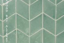 Diamond Tiles hand made 14'5x8'5x1 cm