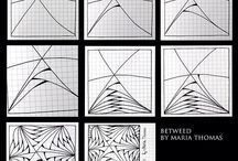 How to draw... zentangle
