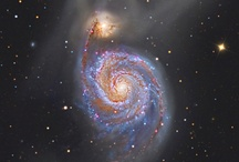 Space - the Whirlpool Galaxy
