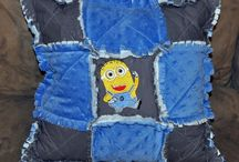 Pillows to throw at Friends! / by Richard and Tanya Quilts