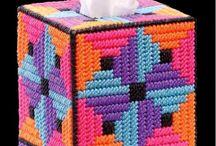 Покрытие для коробки с носовыми платками