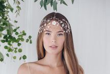 Wedding | Debbie Carlisle | The Wild Rose Collection / The dreamy ethereal bohemian Wild Rose bridal hair accessories collection by Debbie Carlisle - new for 2017 and all available in silver, gold or rose gold finishes